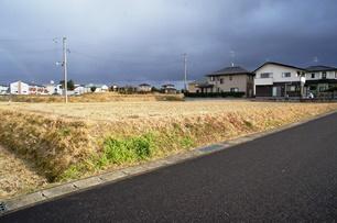 八山田第二区画整理地内